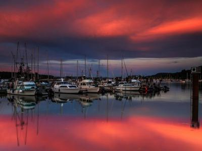 Ganges Harbor Sunset by Shawn/Corinne Severn
