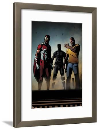 Black Panther: The Most Dangerous Man Alive No.526: Falcon, Black Panther, and Luke Cage