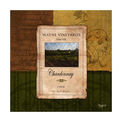 Chardonnay Wine Label