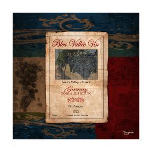 Gamay Wine Label by Shawnda Craig