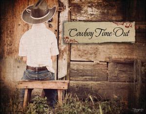 Cowboy Time Out by Shawnda Eva