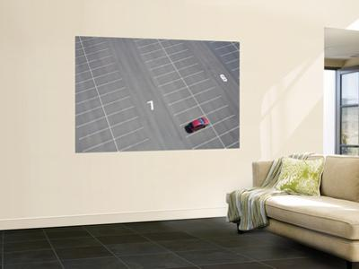 Arial of Parked Car