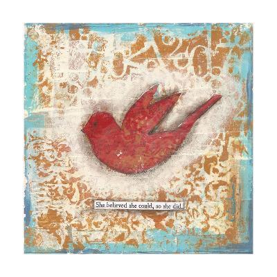She Believed-Cassandra Cushman-Art Print
