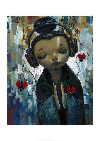 She Had Her Sources-Aaron Jasinski-Art Print