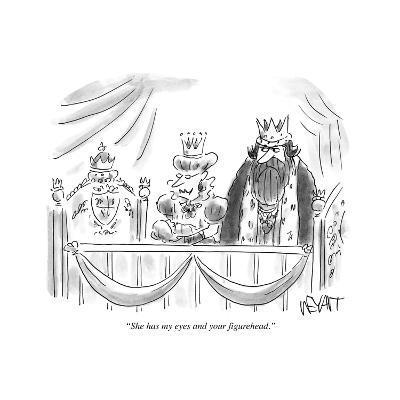"""She has my eyes and your figurehead."" - Cartoon-Christopher Weyant-Premium Giclee Print"