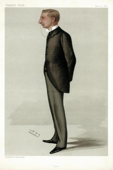 'She' Henry Rider Haggard, British Author, 1887-Spy-Giclee Print