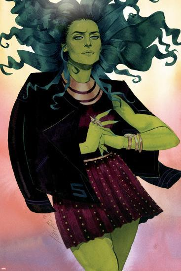 She-Hulk No. 12 Cover-Kevin Wada-Art Print