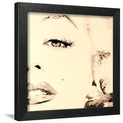 She Knows Marilyn Monroe Pop Art-Pop Art Queen-Framed Giclee Print