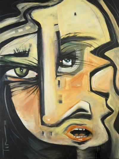 She Lunches Alone-Tim Nyberg-Giclee Print