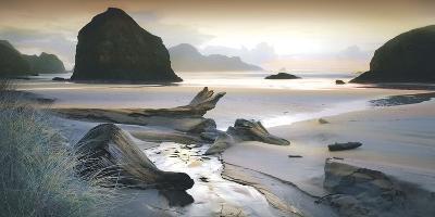 She Sleeps in the Sand-William Vanscoy-Art Print