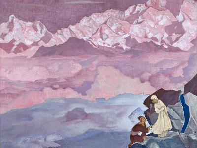 She Who Leads, 1924-Nicholas Roerich-Giclee Print