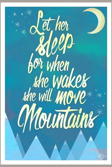 She Will Move Mountains 2-Kimberly Glover-Premium Giclee Print