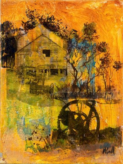 Shearing Shed-Margaret Coxall-Giclee Print