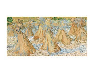 Sheaves of Wheat, 1890-Vincent van Gogh-Art Print