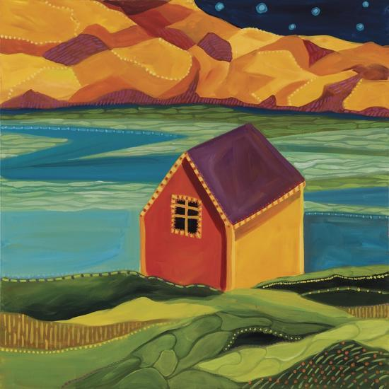 Shed at the Dock-Catherine Breer-Giclee Print