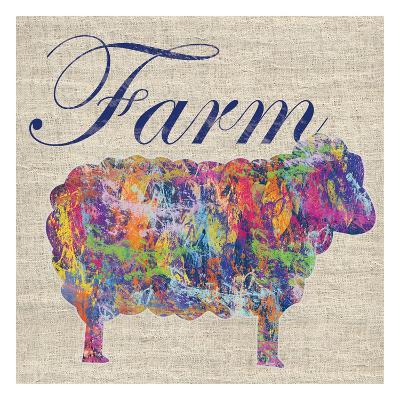 Sheep Farm-Lauren Gibbons-Art Print