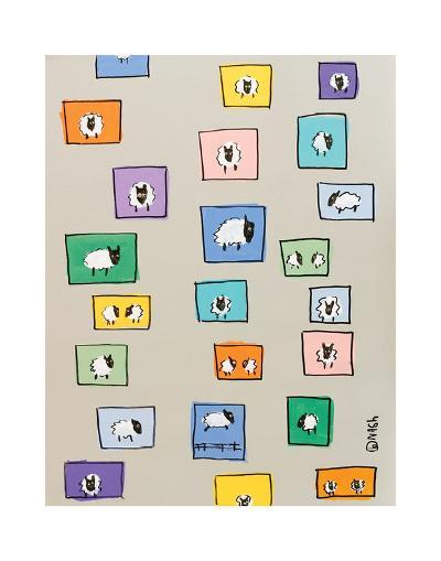 Sheep I-Brian Nash-Art Print