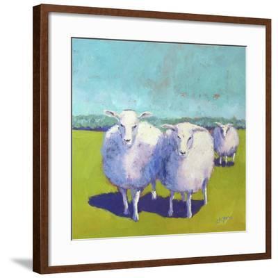 Sheep Pals I-Carol Young-Framed Art Print