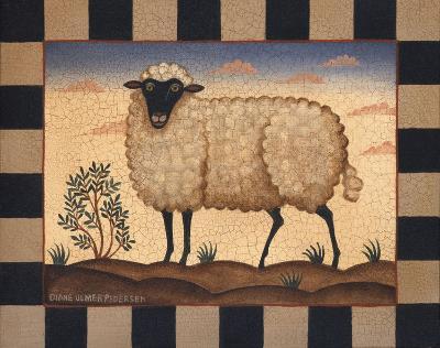 Sheep-Diane Ulmer Pedersen-Art Print