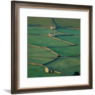 Sheepfolds, Gunnerside, North Yorkshire, England-Joe Cornish-Framed Photographic Print