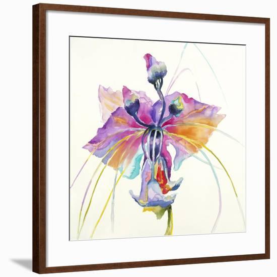 Sheer Beauty V-Liz Jardine-Framed Art Print