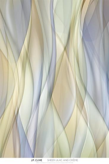 Sheer Lilac and Crème-J^P^ Clive-Art Print