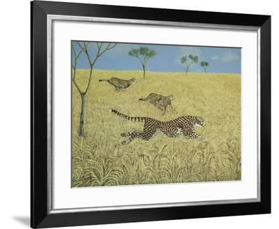 Sheer Speed-Pat Scott-Framed Giclee Print