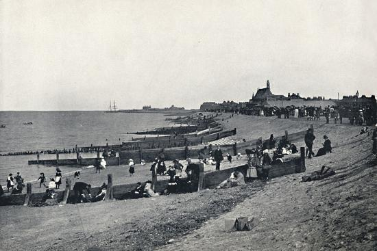 'Sheerness - The Promenade and Beach', 1895-Unknown-Photographic Print
