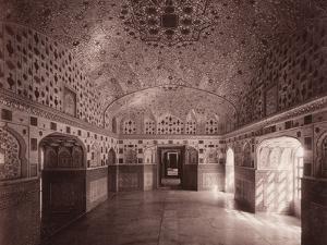 Sheesh Mahal, Amber Palace, Jeypore, C.1890