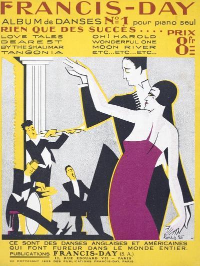 Sheet Music Album of American Dance Music--Giclee Print