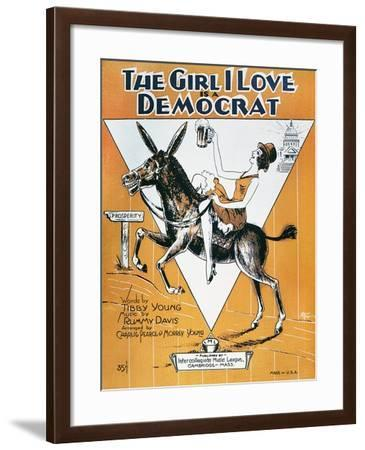 Sheet Music Cover, c1932--Framed Giclee Print
