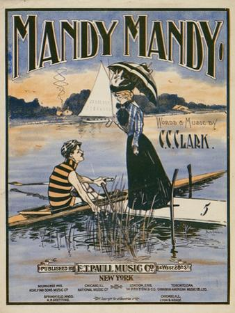 """Sheet Music Covers: """"Mandy Mandy"""" Words and Music by Charles Clinton Clark, 1901"""