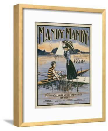 "Sheet Music Covers: ""Mandy Mandy"" Words and Music by Charles Clinton Clark, 1901"