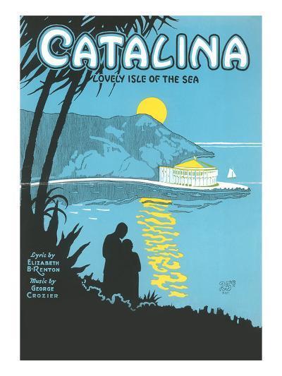 Sheet Music for Catalina--Art Print