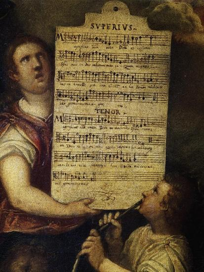 Sheet Music for Magnificat for 4 Voices--Giclee Print