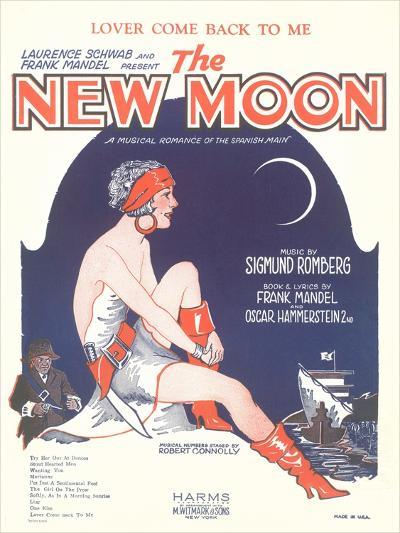 Sheet Music for the New Moon--Art Print