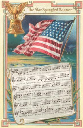 Sheet Music for the Star-Spangled Banner