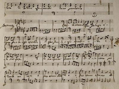 Sheet Music of Andromaca, 1730-Benedetto Marcello-Giclee Print