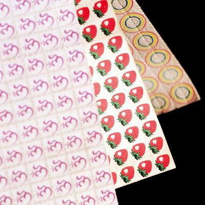 Sheets of LSD (acid) Tabs-Tek Image-Photographic Print