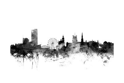 Sheffield England Skyline-Michael Tompsett-Art Print