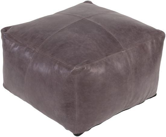 Sheffield Pouf - Taupe--Home Accessories
