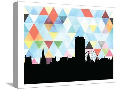 Sheffield Triangle-Paperfinch 0-Stretched Canvas Print
