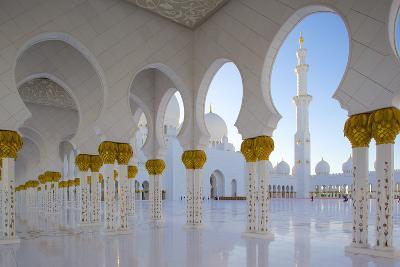 Sheikh Zayed Bin Sultan Al Nahyan Mosque, Abu Dhabi, United Arab Emirates, Middle East-Frank Fell-Photographic Print