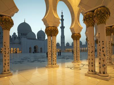 Sheikh Zayed Mosque, Abu Dhabi, United Arab Emirates, Middle East-Angelo Cavalli-Photographic Print