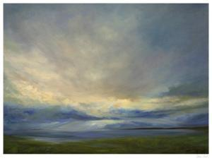 Clouds on the Bay III by Sheila Finch