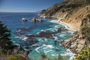 Big Sur Coastline,West Coast,Pacific Coast, California by Sheila Haddad