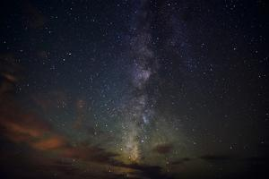 Milky Way, Stars at Night by Sheila Haddad