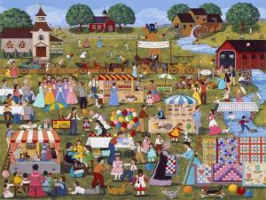 Annual Church Bazaar by Sheila Lee