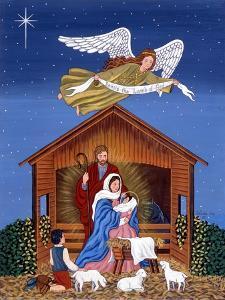 Primitive Nativity by Sheila Lee
