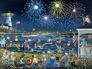 Seaside on the Fourth by Sheila Lee